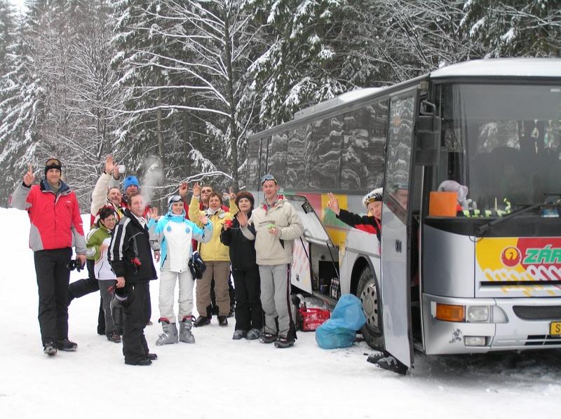 Náš autobus na Hochficht