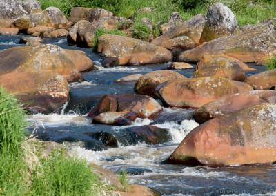 Vltava pod přehradou