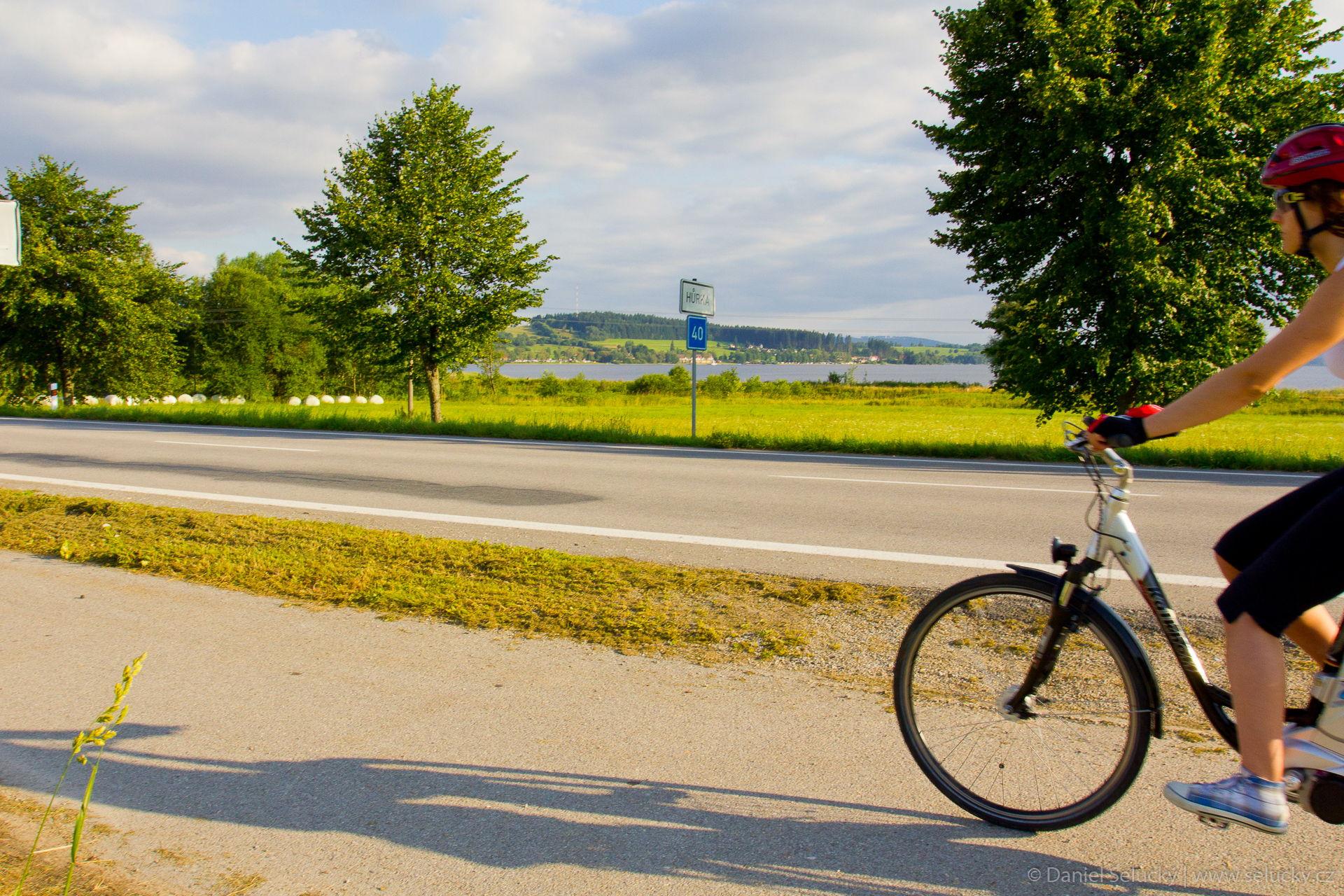 Cyklostezka u našeho penzionu